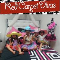 Red Carpet Divas - Princess Party Spa Vaughan